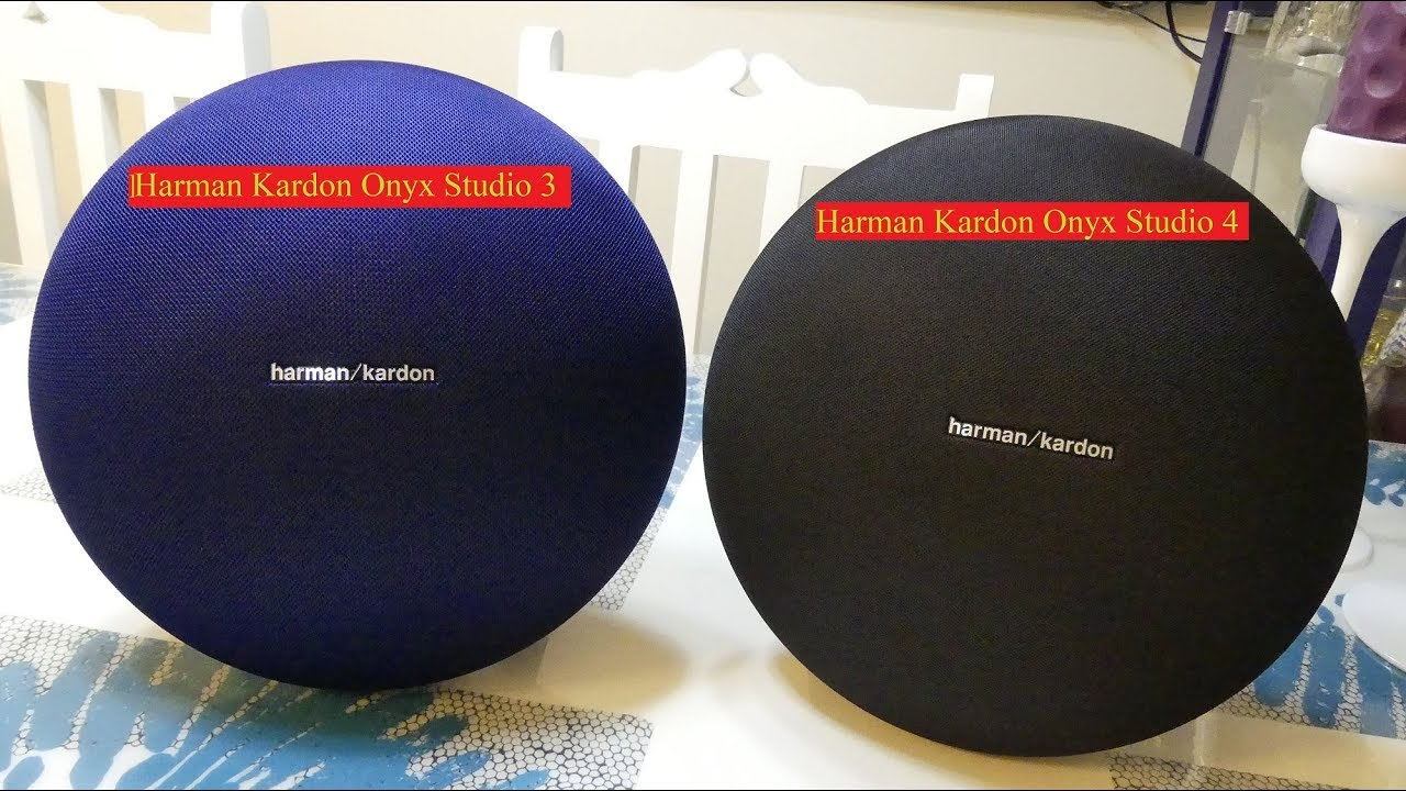 Harman Kardon Onyx Studio 3 Vs Onyx Studio 4 Sound Test - YouTube
