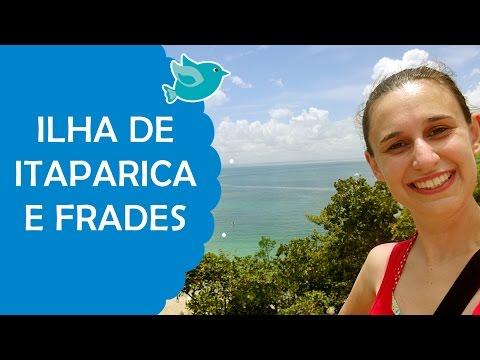 Ilha de Itaparica e Frades - Passeio de Escuna em Salvador | Fê Rabaglio