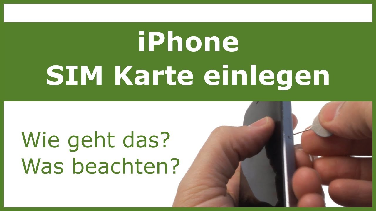 Iphone 6s Sim Karte Wechseln.Iphone Sim Karte Wechseln Sim Kartenfach öffnen Ganz Einfach Auswechseln
