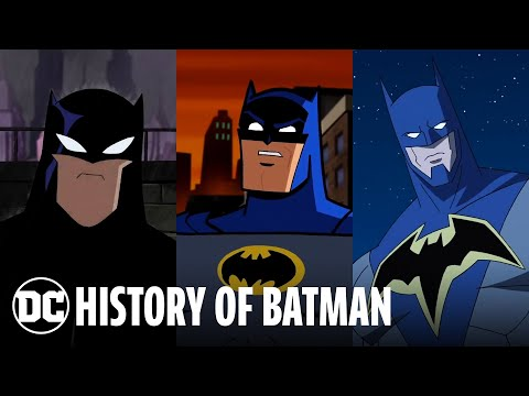 The Evolution Of Batman | DC Animated History