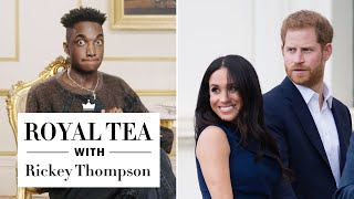 Rickey Thompson Breaks Down the Royal Family Tree | Royal Tea | Harper