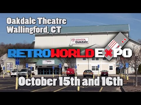 RetroWorld Expo 2016 October 15 and 16th Wallingford, CT