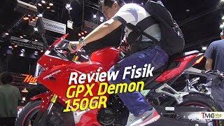 Download Video Kupas Detail GPX Demon 150GR dan Riding ergonominya MP3 3GP MP4