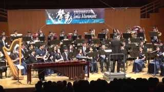 Dr. Wei-Chen Lin performed Prism Rhapsody with Hong Kong Youth Symphonic Band