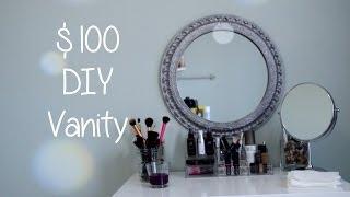 $100 Diy Vanity Desk