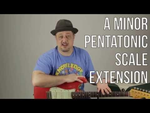 Minor Pentatonic Scale Root on