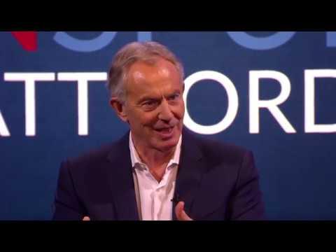 Tony Blair speaks out on Donald Trump