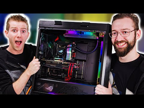 We Built His Dream Family Gaming Rig - ROG Rig Reboot 2019