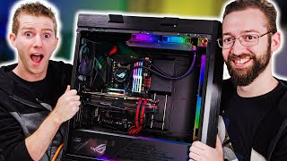 Download We Built His Dream Family Gaming Rig - ROG Rig Reboot 2019 Mp3 and Videos