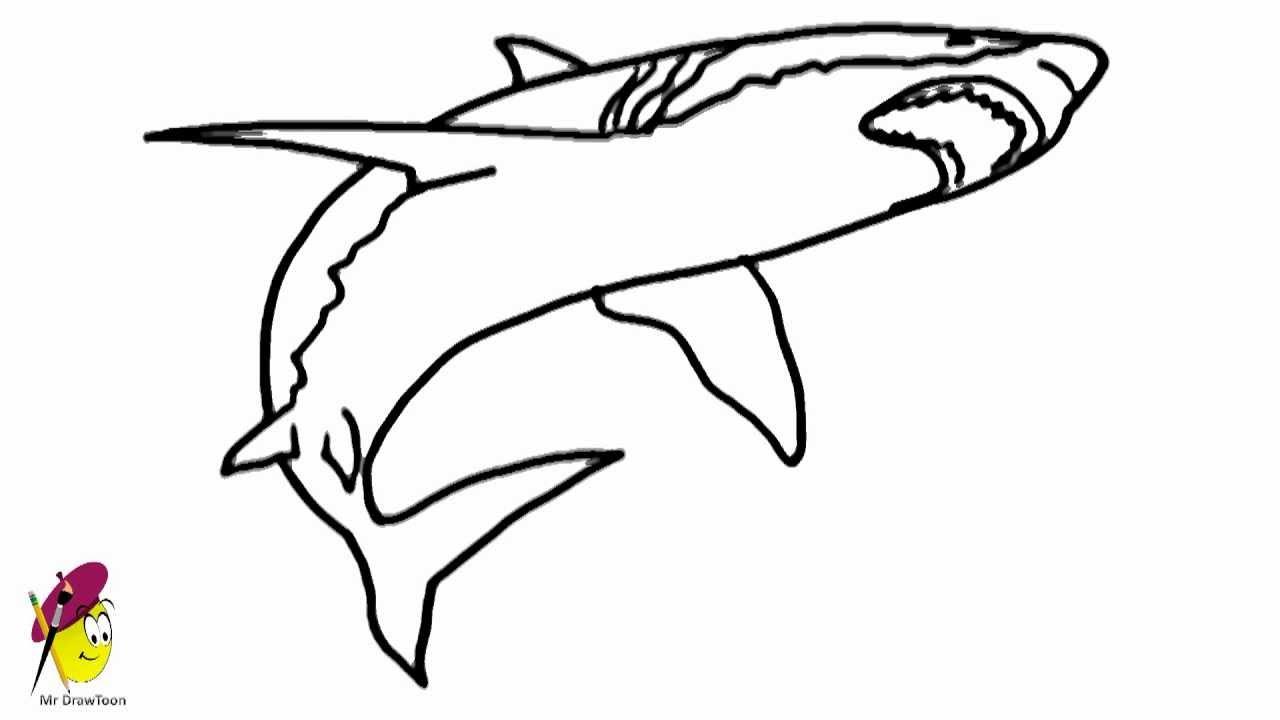 How to draw Sharko from Zig and Sharko - YouTube