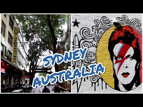 #1192 DAVID BOWIE Sydney Apt, Hang Outs, & Music Video Locations AUSTRALIA (11/15/19)