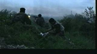 Chechen War gun battle (corrected audio) wmv