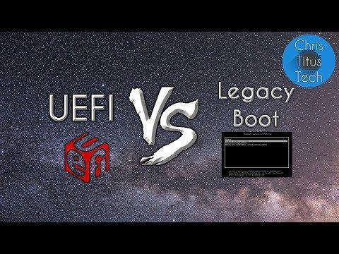 UEFI Vs Legacy BIOS Boot | GPT Vs MBR (DOS) | Explained
