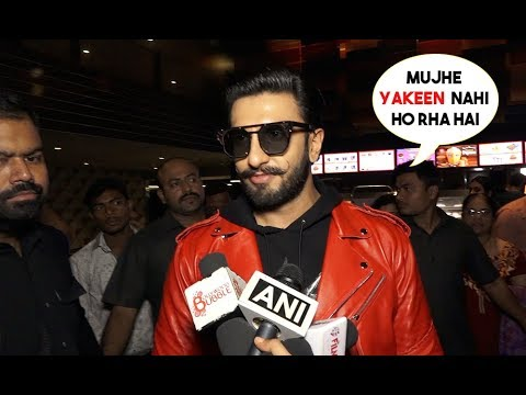 Exclusive Interview: Ranveer Singh's Mind blowing Reaction On Crazy Response For Simmba