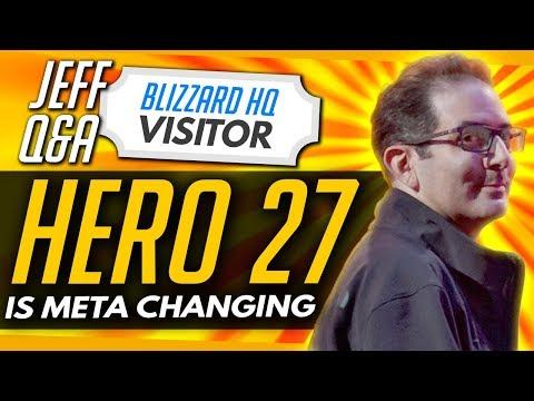 Overwatch | Hero 27 Is Meta Changing + Perfect Hero Balance IMPOSSIBLE (Jeff Interview)