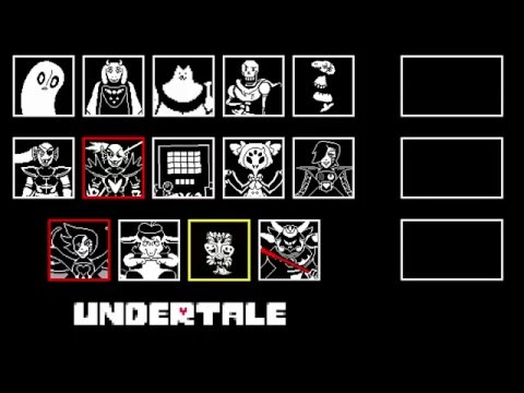Undertale - All Boss Themes