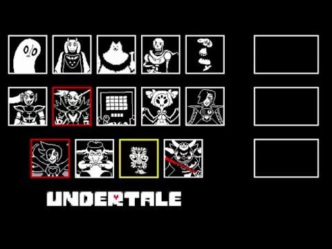 Undertale - All Boss Themes
