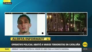 Catalunya: Policía abate a cuatro sospechosos ante posible atentado terrorista