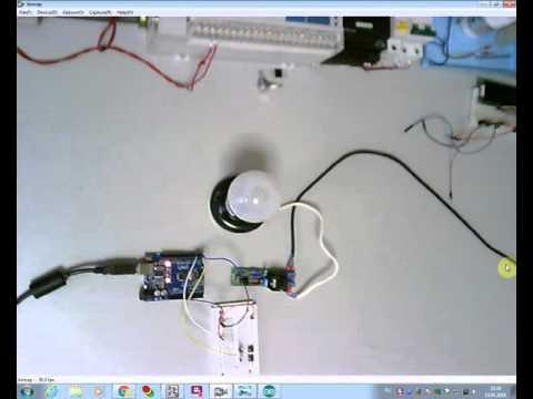 Мягкое включение ламп накаливания на Arduino