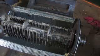 видео обзор молотковой дробилки щепорез,арболит