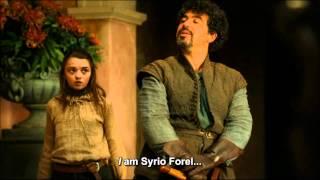 "BestofThrones - ""God of Death"" - Syrio Forel & Arya Stark"