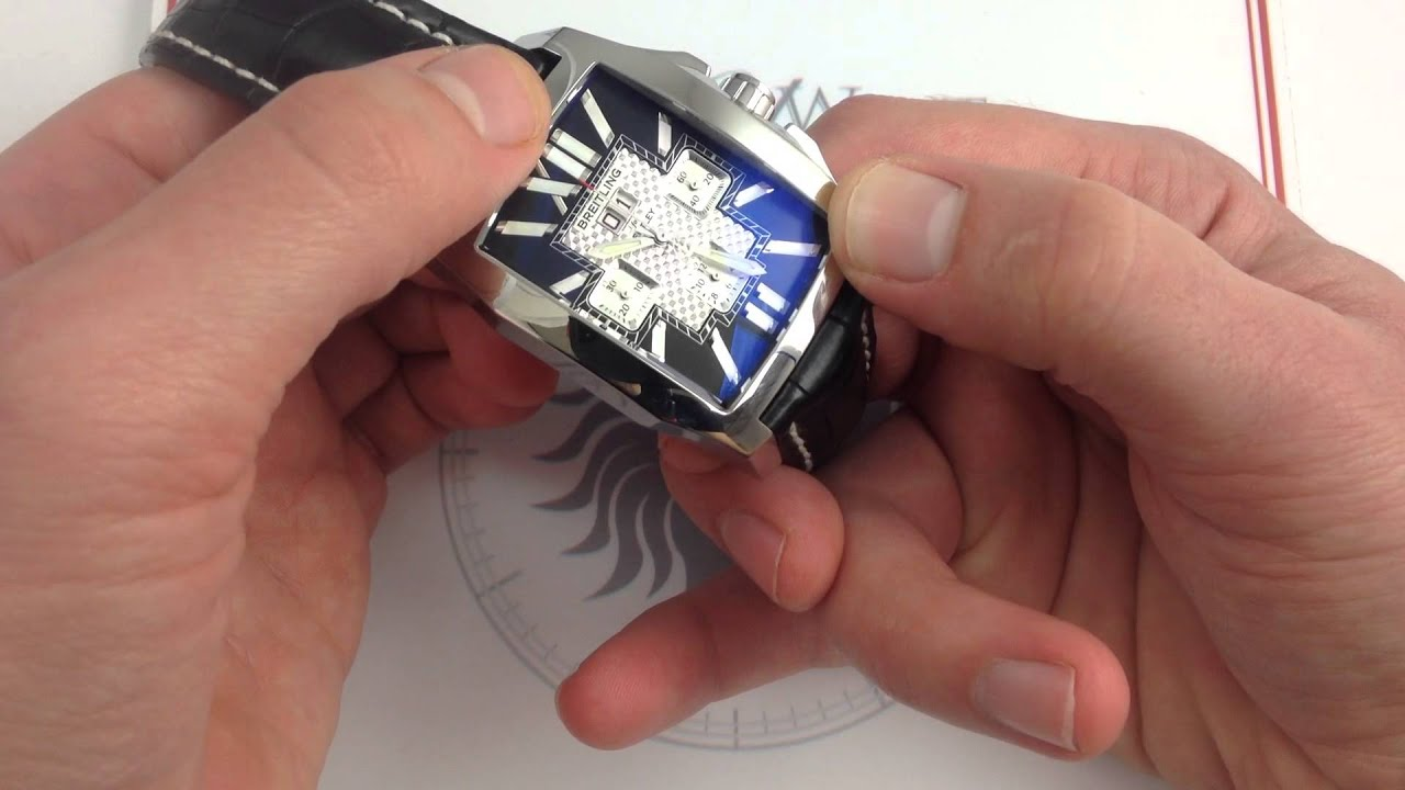 review chronograph watch luxury bentley b for flying breitling