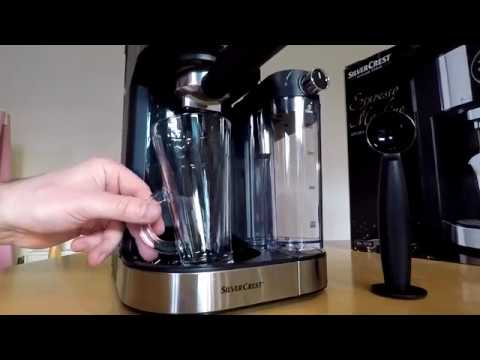 Silvercrest Espresso Machine From Lidl Model Semm 1470 A1
