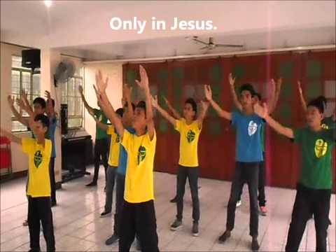 Only in Jesus by Fr.Carlo Magno Marcelo wd animation & lyrics