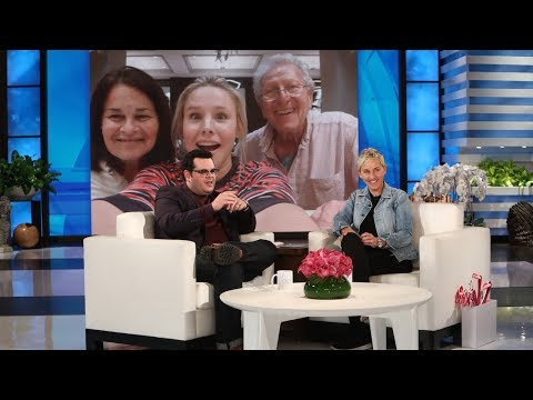Download Youtube: Josh Gad Gushes over Kristen Bell Saving His Family from the Hurricane