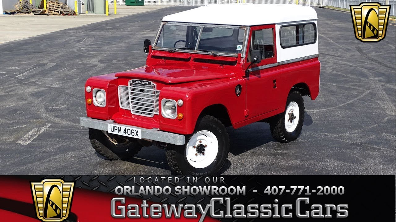 1982 Land Rover Series III - Gateway Classic Cars Orlando - #1348