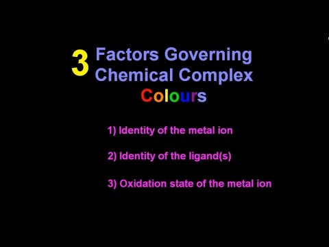 13.2 What Are The Reasons For The Different Colours Of Complexes? [HL IB Chemistry]