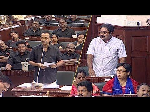 தூத்துக்குடி துப்பாக்கி சுடு MK Stalin சட்டசபை பேச்சு  mk Stalin Speech at Tamilnadu Assembly STV