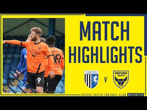 Gillingham Oxford Utd Goals And Highlights