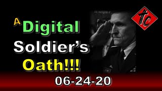 A Digital Soldier's Oath