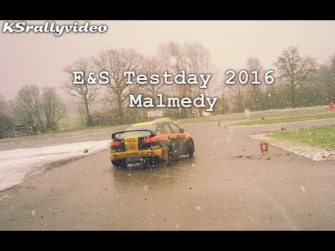 [TEST] E&S Testday Malmedy 2016 By KSrallyvideo [HD]