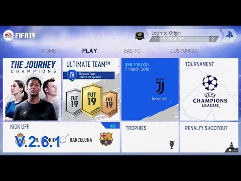 Game Android Offline FIFA 14 MOD FIFA 19 V.2.6.1 (FIX BUG) Link +Cara Install - 동영상