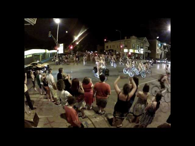 Chicago's Naked Bike Ride - 2012