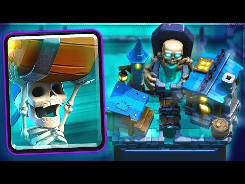 NEW Wall Breakers & Spooky Town Arena Gameplay New Clash Royale 2019 Update!