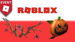 How to Get Spider Antlers and Pumpkin Backpack | Roblox Halloween Event 2018