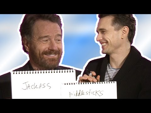James Franco And Bryan Cranston Take The Best Friend Test