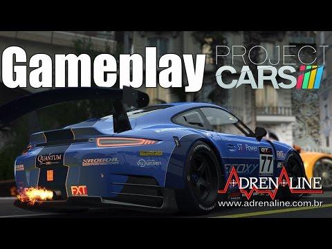 Project Cars! Muito realismo e motores explodindo no gameplay Adrenaline! 1080p60