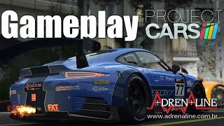 Project Cars! Muito realismo e motores explodindo no gameplay Adrenaline! 1080p60
