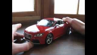 Review of 1/18 Audi TT RS by Bburago