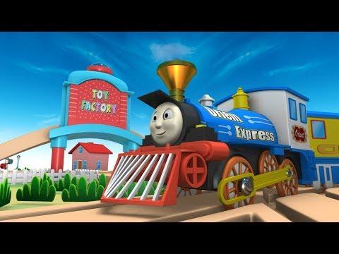 Choo Choo Train - Kids Videos for Kids - Train Cartoon Video for Kids