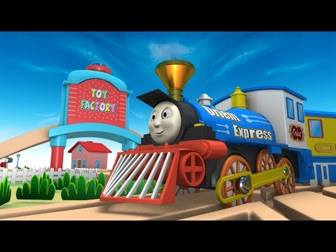 Choo Choo Train - Kids Videos for Kids - Train Cartoon Video for Kids