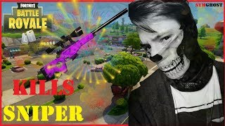 MES PLUS BEAU KILLS AU SNIPER !! ( Fortnite Battle Royale )