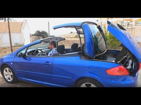 Peugeot 307 CC (ПЕЖО) Тест драйв и обзор