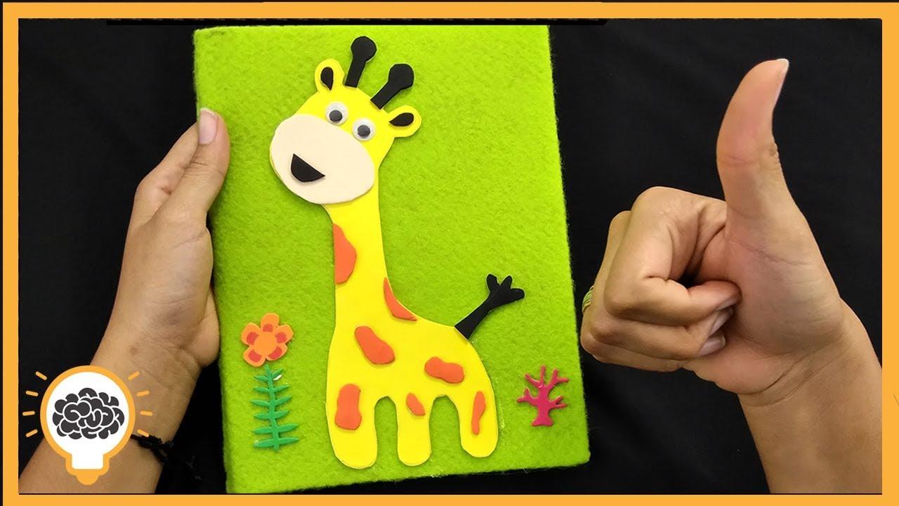 Como Decorar Un Cuaderno Para Niños I Truqueandotv