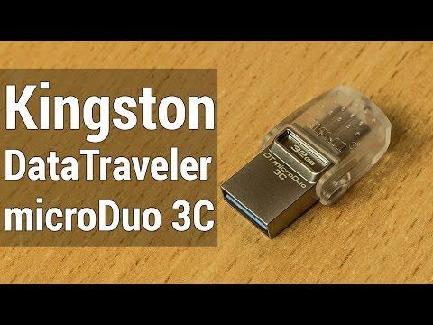 Kingston DataTraveler microDuo 3C обзор.  Флешка которую ты ждал всю жизнь!