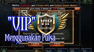 Cara Mudah Top Up Diamond (VIP) di Crisis Action Via Pulsa